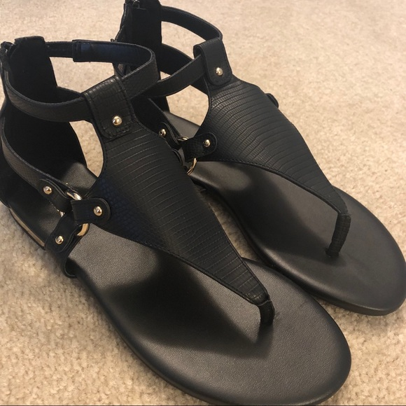 Womens Apt 9 Sandals Black Gold | Poshmark